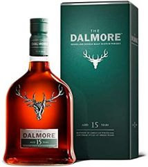 Dalmore 15 Year Old Single Malt Whisky 70cl