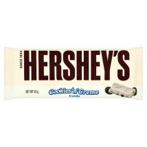 Hershey's Cookie & Creme Chocolate Bar 43G