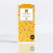 Honey & Honeycomb 37% Milk Chocolate Bar 80g