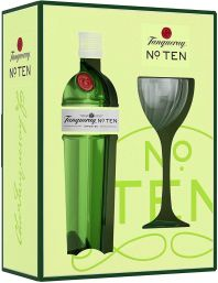 Tanqueray No. Ten 70cl With Coupette Glass