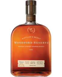 Woodford Reserve Bourbon 70cl With A Free WR Old Fashioned Syrup